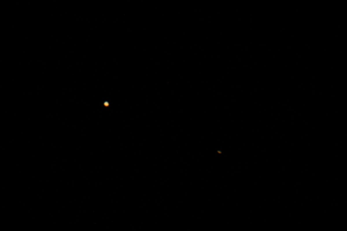 Conjunction of Jupiter and Saturn